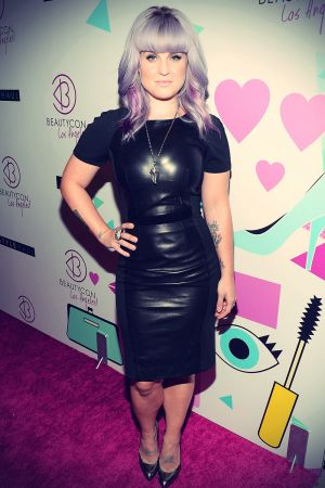 Kelly Osbourne at the BeautyCon LA