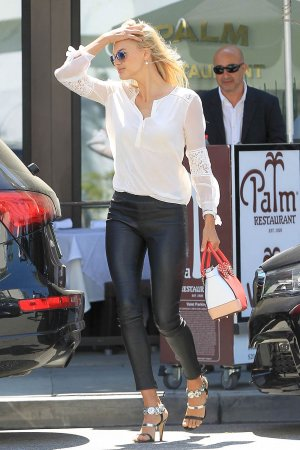 Kelly Rohrbach at Palm Restaurant