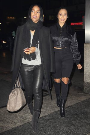 Kelly Rowland at NOBU Restaurant in Midtown