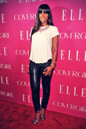 Kelly Rowland attends the 4th Annual ELLE Women in Music Celebration