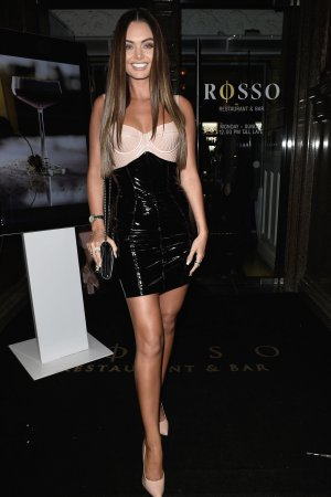 Kendal Rae Knight enjoying a birthday night out at Rosso Restaurant