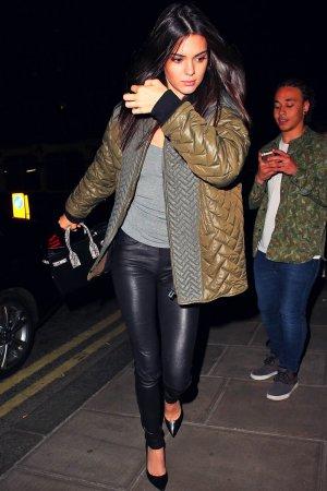 Kendall Jenner arrives back at her hotel