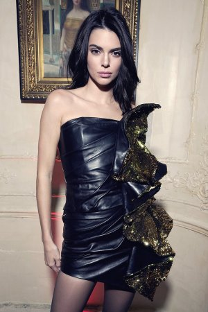 Kendall Jenner attends Chrome Hearts Party