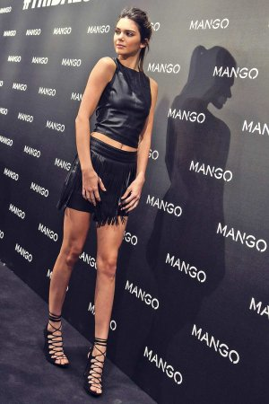 Kendall Jenner attends Mango Tribal Spirit party