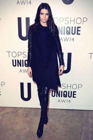 Kendall Jenner attends Topshop Unique show