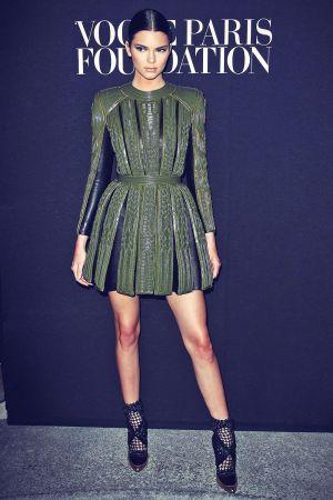 Kendall Jenner attends Vogue Foundation Gala