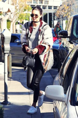 Kendall Jenner heading to lunch in Beverly Hills