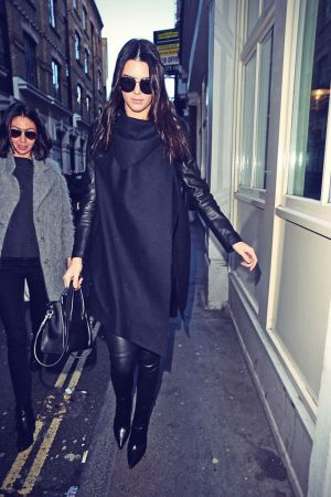 Kendall Jenner out in East London
