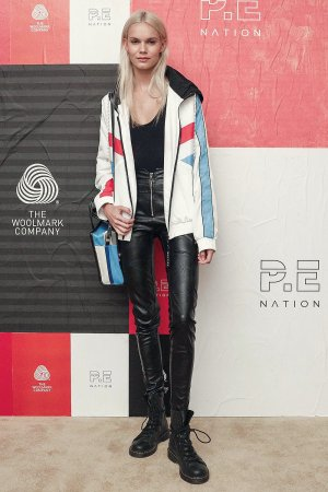 Kendall Visser  attends P.E Nation X Woolmark dinner