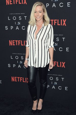 Kendra Wilkinson attends Lost in Space series premiere