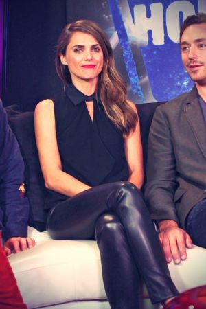 Keri Russell appearance at the Young Hollywood Studio