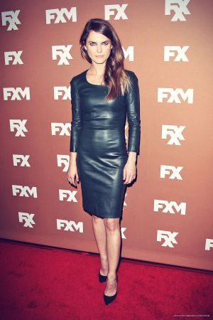 Keri Russell attends 2013 FX Upfront Bowling Event