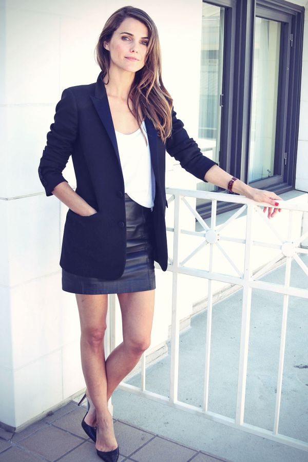 leather Keri russell