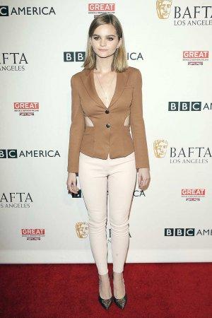 Kerris Dorsey attends the BBC America BAFTA Los Angeles TV Tea Party