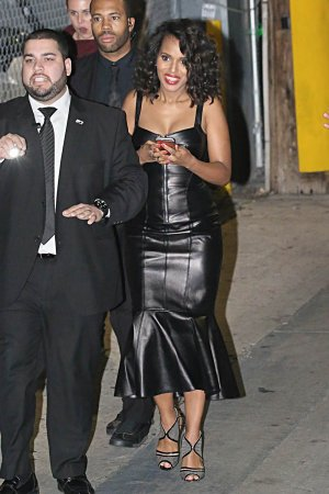 Kerry Washington is seen at Jimmy Kimmel Live