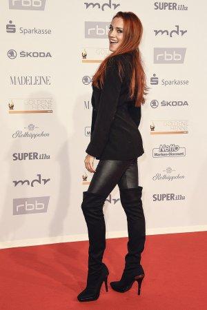 Kerstin Merlin seen at Goldene Henne 2017