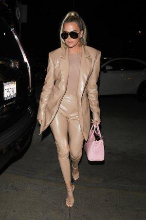 Khloe Kardashian arrives at Carousel restaurant