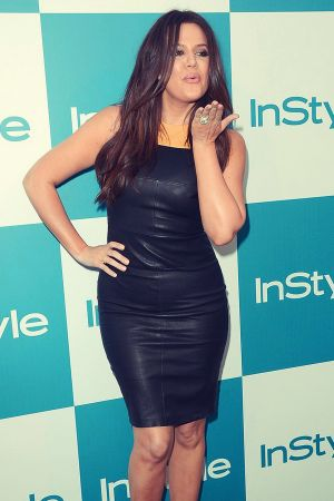 Khloe Kardashian at 11th annual InStyle summer soiree