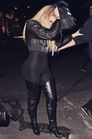 Khloe Kardashian at Beyonce's concert