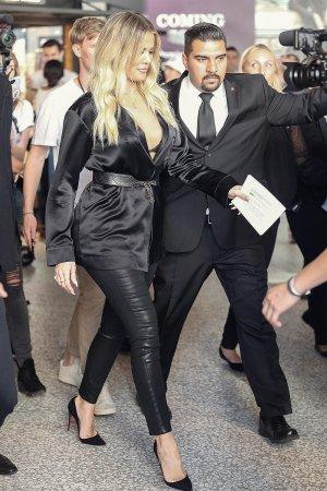 Khloe Kardashian at Good American event