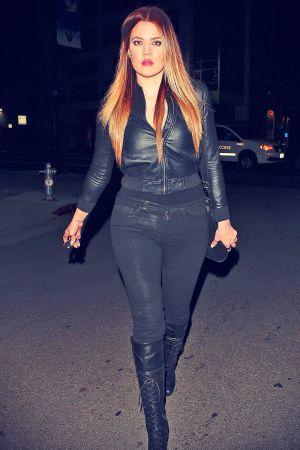 Khloe Kardashian at Philippe Chow in Beverly Hills