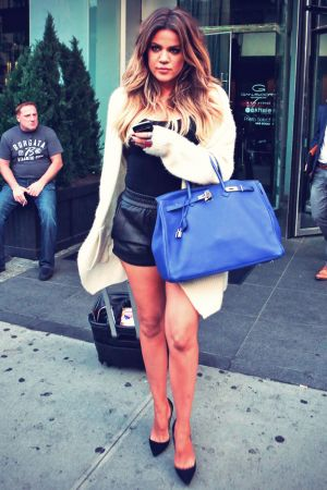 Khloe Kardashian leaving her Hotel in NYC
