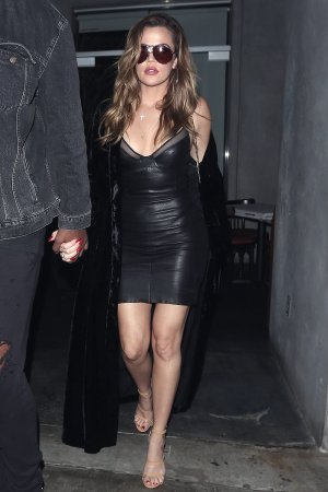 Khloe Kardashian out for dinner