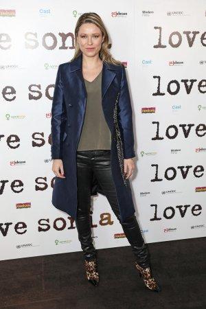 Kiera Chaplin attends UK Premiere of 'Love Sonia'