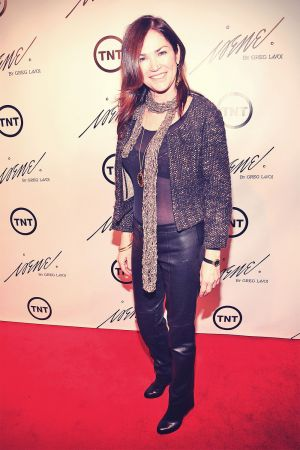Kim Delaney at The House Of Irene A/W 2013 Fashion Show