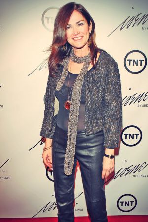 Kim Delaney attends The House Of Irene AW 2013 Fashion Show