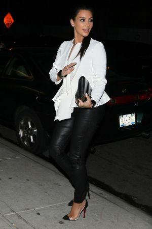 Kim Kardashian and Kanye West in NYC