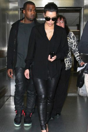 Kim Kardashian at LAX Airport