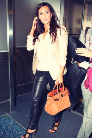 Kim Kardashian at Miami Airport