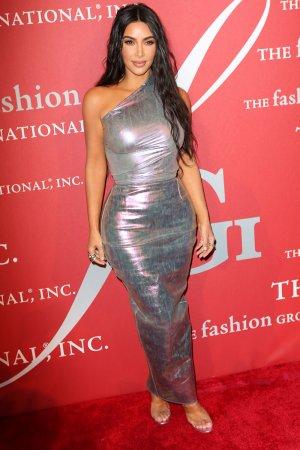 Kim Kardashian attends Fashion Group International Night of Stars Awards