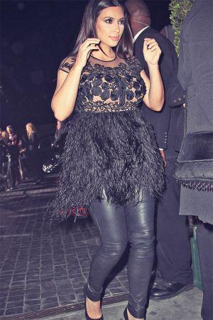 Kim Kardashian attends Topshop Topman LA Opening Party