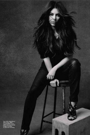 Kim Kardashian Covers Marie Claire US