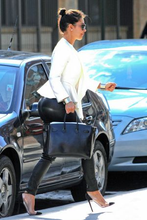 Kim Kardashian grabbing breakfast with Kanye West