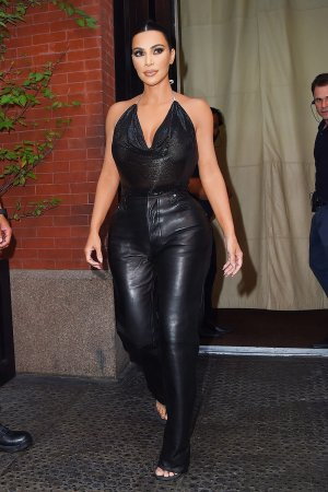 Kim Kardashian heads to the Tonight Show