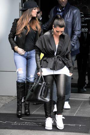 Kim Kardashian, Khloe Kardashian and Lamar Odom