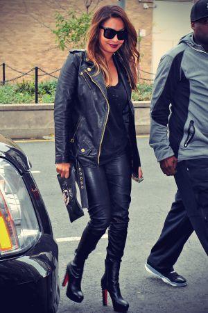 Kim Kardashian & LaLa Anthony head out to ABC Kitchen