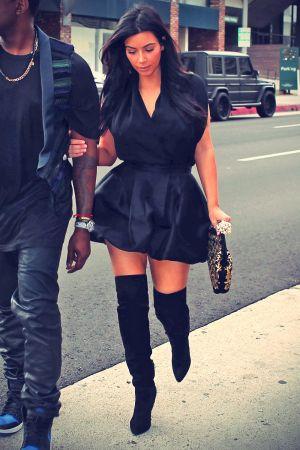 Kim Kardashian lunched at Kung Pao Bistro
