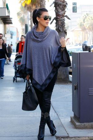Kim Kardashian out and about in Hollywood