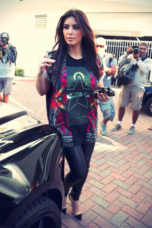 Kim Kardashian out and about in Miami