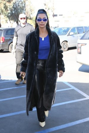 Kim Kardashian out to lunch