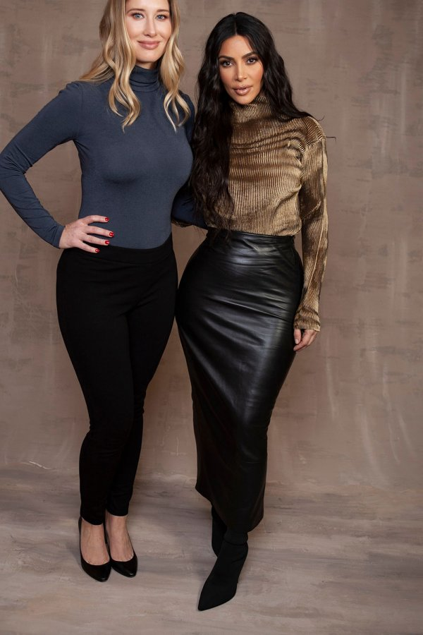 Kim Kardashian portrait at the 2020 Winter TCA
