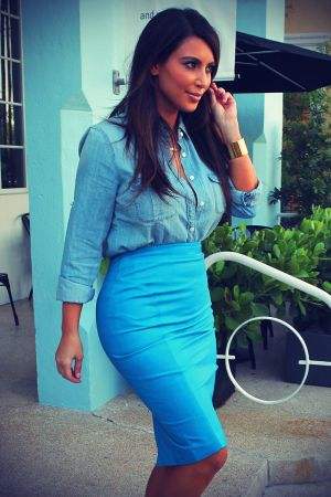 Kim Kardashian shopping in Miami
