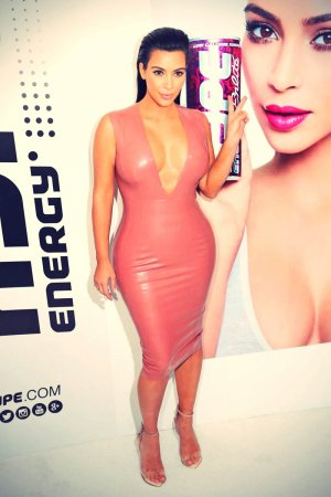 Kim Kardashian West attends the Hype Energy Drinks U.S. Launch