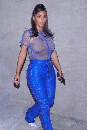Kim Kardashian West out in Calabasas