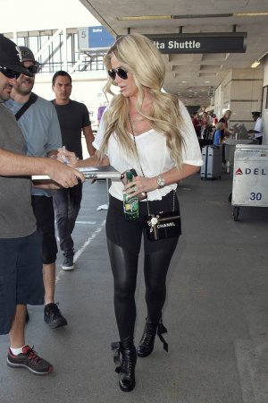 Kim Zolciak is seen at LAX
