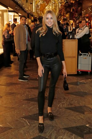 Kimberley Garner attends 200th Burlington Christmas